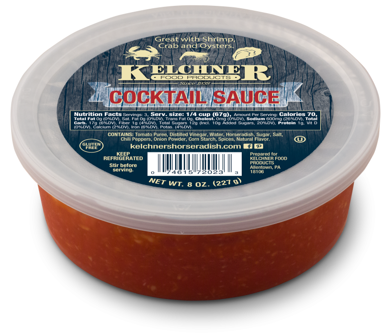 Kelchner's Cocktail Sauce 8 oz. Tub-1