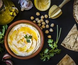 Lemon Dill Hummus