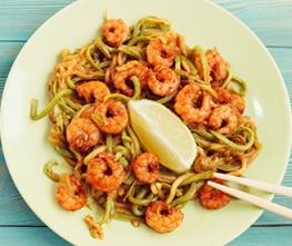 Garlic Shrimp Scampi Zucchini Noodles