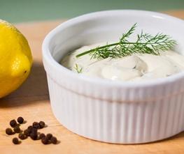 Lemon Dill Horseradish Sauce
