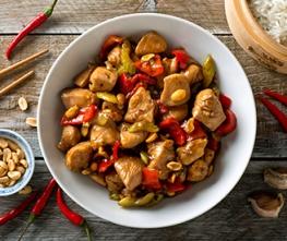 Caribbean Jerk Chicken Stir-Fry