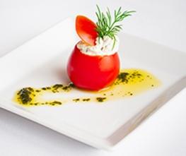 Horseradish Cherry Tomatoes