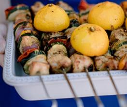 Lemon Dill Marinated Kababs