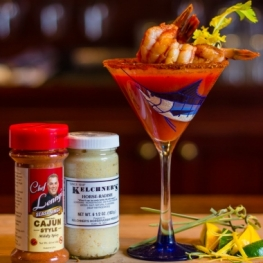 Cajun Shrimp Bloody Marys