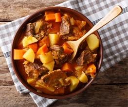 Horseradish Beef Stew