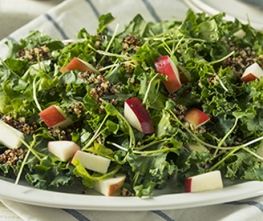 Kale & Apple Salad with Kelchner's Honey Ginger