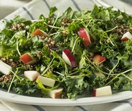 Kale & Apple Salad with Kelchner's Honey Ginger