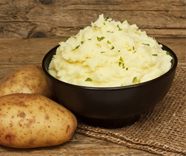 Lemon Dill Mashed Potatoes