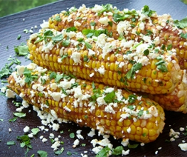 Sriracha Corn on the Cob
