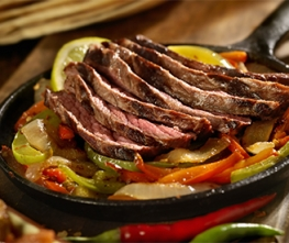 Keto - Chili Lime Steak Fajitas