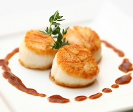 Brown Sugar Bourbon Scallops